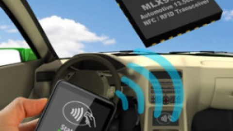 MLX90132 – Automotive 13.56MHz NFC Transceiver