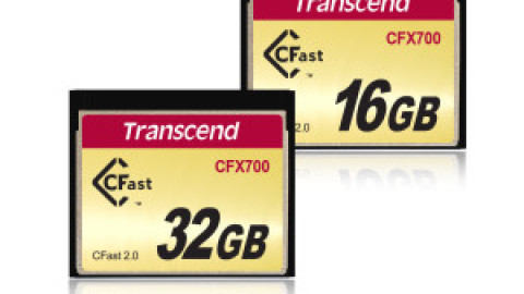 Transcend Launches CFast 2.0 CFX700 Memory Cards for Industrial-Grade Applications
