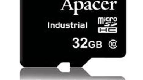 Apacer – Industrial micro-SD-Cards with MLC-Flash