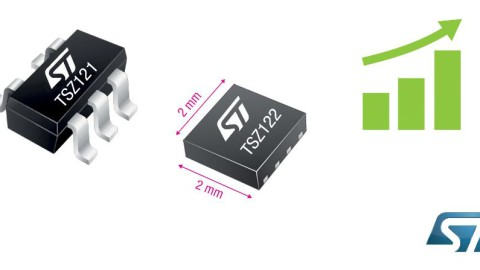 STMicroelectronics – Ultra precision and low-power Op-Amp for IoT applications