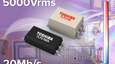 Toshiba Launches High-Speed Photocoupler for Industrial Automation