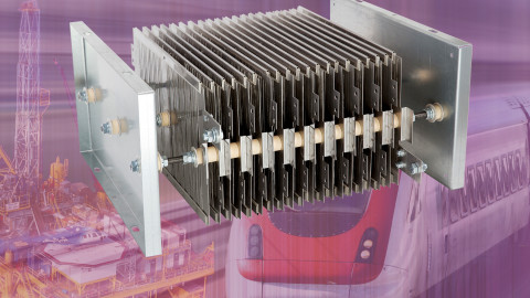 VISHAY – New GRE2 Series Grid Resistors Combine High Power Ratings to 24 kW With Operating Temperatures to +400 °C