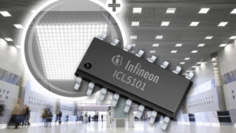 Infineon – ICL5101 – High-Voltage Resonant Controller IC with PFC for LED Driver