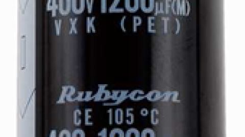Big Case Size Capacitors Upgrade with Rubycon