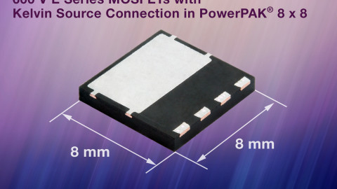 Vishay – 600V E-Series MOSFETs in PowerPAK 8×8