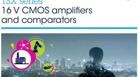 STMicroelectronics – TSX series – 16V CMOS Amplifiers and Comparators