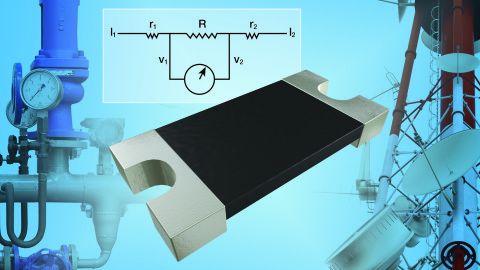 VISHAY – New WSK1206 Power Metal Strip® Resistor Features Kelvin 4-Terminal Connection for Increased Measurement Accuracy and Reduced TCR