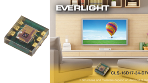 EVERLIGHT Electronics introduces low power consumption color sensor for display applications
