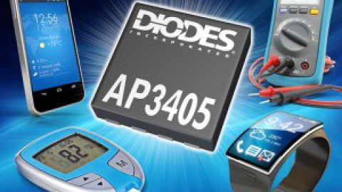 Diodes – AP3405 – High-Frequency 600mA DC-DC Buck Converter