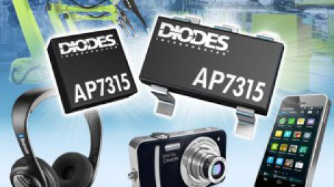 Diodes – AP7315 – 150mA High PSRR Low Noise LDO Voltage Regulator