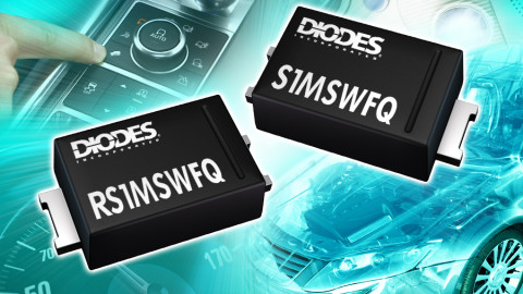 Automotive Grade SOD123F Rectifiers Offer Robustness and Small Footprint
