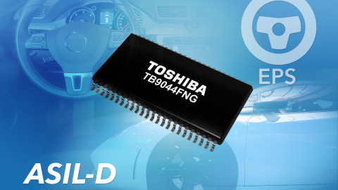 Toshiba launches general-purpose System Power IC for Automotive Functional Safety