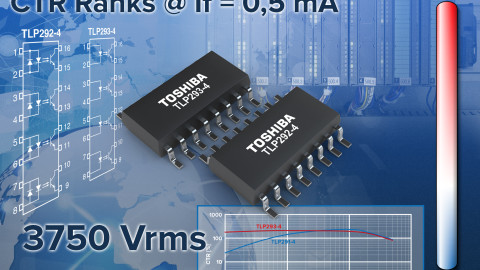 Toshiba Introduces New Fast Switching Four-Channel Transistor Photocouplers