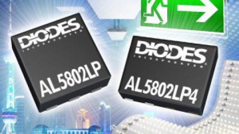 Diodes – 30V/120mA Linear LED Drivers in Tiny DFN Packages Bring Simplicity and Dependability to LED Lighting