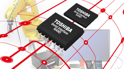 Serial NAND powered by Toshiba