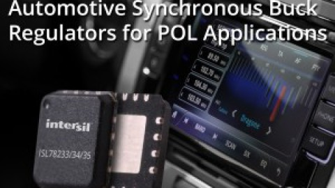 Intersil – ISL78235 – 5A Automotive Synchronous Buck Regulator