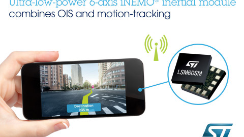 STMicroelectronics: High-Efficiency 6-Axis MEMS Sensor Modules