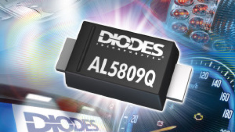 Diodes – AL5809Q – Simple Automotive Compliant Two-Terminal Constant Current Linear LED Driver