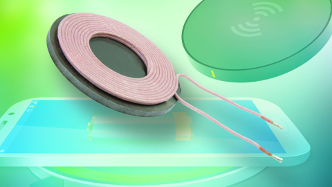 Wireless Charging Transmitter Coil Offers Small Size and High Efficiency