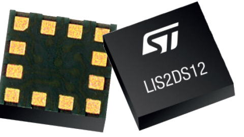 STMicroelectronics – LIS2DS12: Ultra-Low Power High-Performance 3-Axis Accelerometer