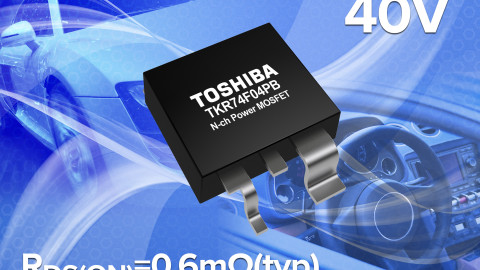 Toshiba present new automotive N-Channel MOSFET with low On-Resistance