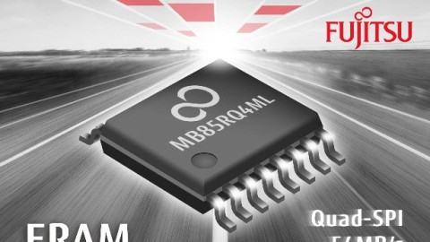 Industry's first Quad SPI FRAM device with 4Mbit capacity from Fujitsu Electronics Europe