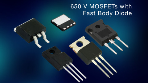 Vishay – New 650 V Fast Body Diode MOSFETs Increase Voltage Headroom for Soft Switching in Industrial, Telecom, and Renewable Energy Applications