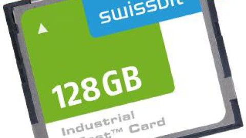 Swissbit adds cost-effective, mid-performance models to CFast™ card range