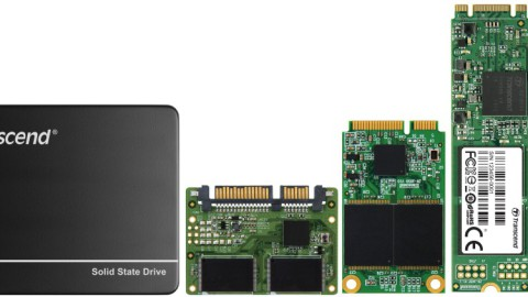 Transcend's various form factors of SSDs with SuperMLC
