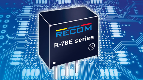 RECOM – R-78E Series – New low-cost switching regulator module