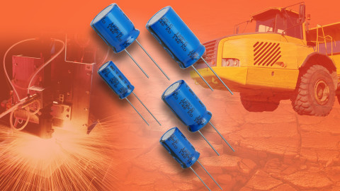 160 RLA Series Aluminum Capacitors