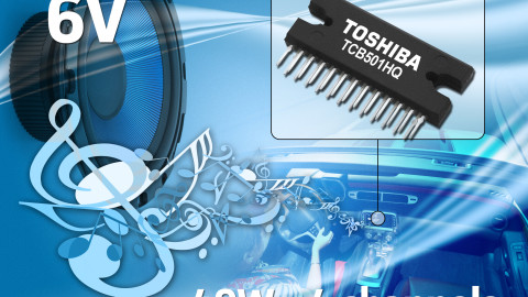 Toshiba Launches 4-Channel Current-Feedback Power Amplifier IC for Car Audio – TCB501HQ