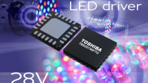 Toshiba – TB62D786FTG – LED driver for LED displays and amusement applications
