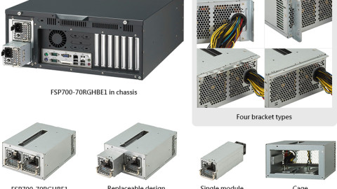 700W PS2 Redundant Power Supply