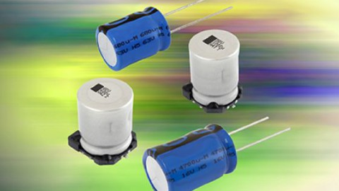 New Aluminum Capacitors With Increased Vibration Resistance to 50 g Deliver Stability and Reliability for Automotive and Industrial Applications