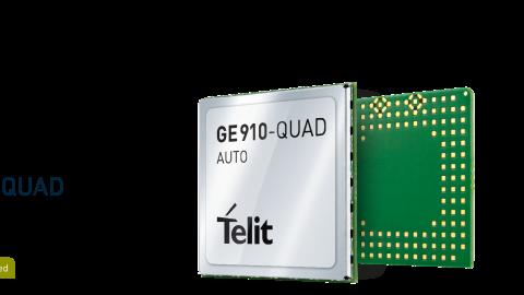 Telit GSM Module GE910-QUAD AUTO