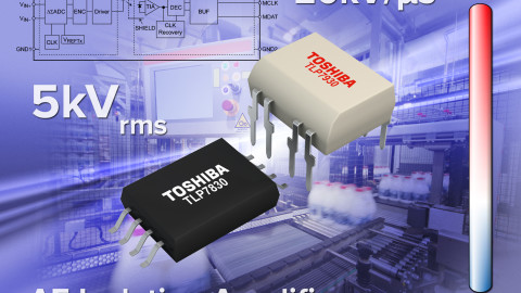 Toshiba Launches Optical Coupling Digital Output Type Isolation Amplifiers