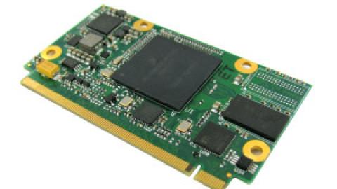 SECO – uQ7-962 w/ i.MX6 Solo @1GHz – DDR3L 512MB – eMMC 4GB