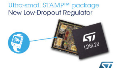 STMicroelectronics – LDBL20 – Extrem kleiner Low-Dropout-Regler in einem bahnbrechenden Bumpless Chip-Scale Package