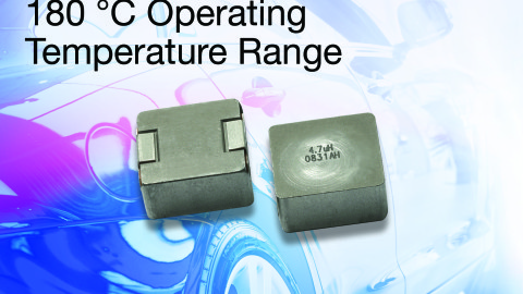 New Vishay IHLP® Inductor in 5050 Case Size Delivers High-Temperature Operation to +180 °C