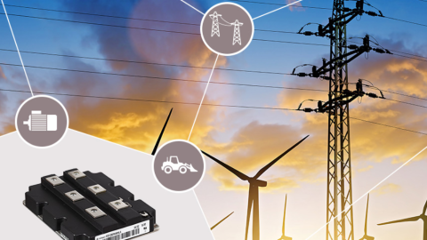 Infineon – Small losses make the difference – 4.5kV / 1200A single switch module
