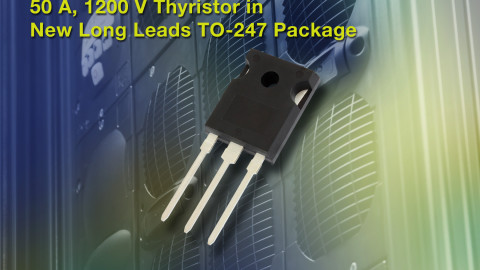 Vishay – VS-50TPS12L-M3 Phase Control Thyristor Lowers Costs and Saves Space in Medium-Power Switching Applications