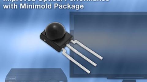 New VISHAY Miniature Minimold Through-Hole IR Receivers