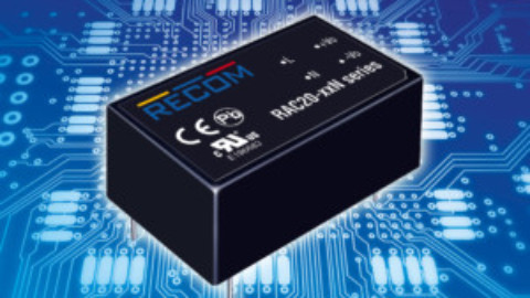 RECOM – RAC20-N – AC/DC converter in modular design for mounting onto PCBs
