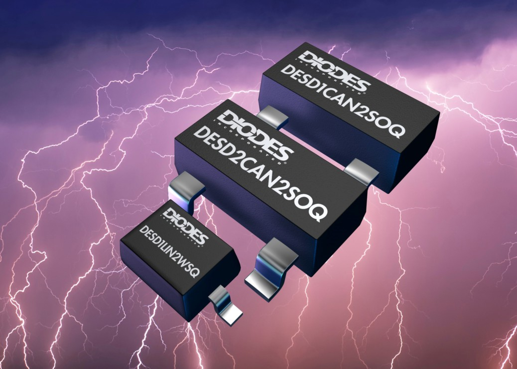 DIODES INC – ESD Protection Diode designed for automotive