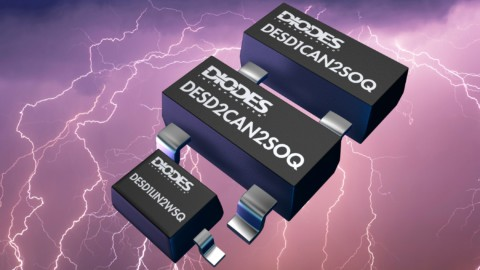 DIODES INC – ESD Protection Diode designed for automotive CAN bus lines Achieves High Surge Protection Over Long Data Lines