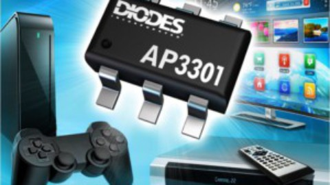 Diodes – AP3301 – Quasi-Resonant PWM Controller Provides High Efficiency Across all Loads