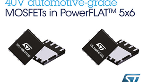 STMicroelectronics Brings Superior Noise Performance and Efficiency to 40V Automotive MOSFETs