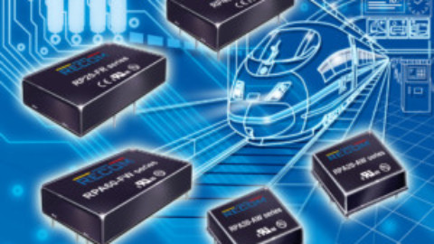 RECOM – New DC/DC converters for railway applications