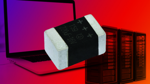 New T59 Series vPolyTan Low-ESR, Polymer Capacitors Increase Volumetric Efficiency to Lower Component Counts